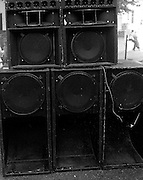 Speake Stack - Notting Hill Carnival Sound System 1989