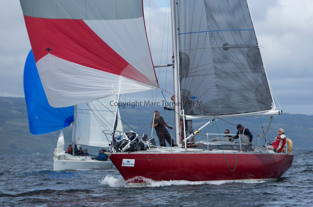 Silvers Marine Scottish Series 2017<br /> Tarbert Loch Fyne - Sailing Day 3<br /> <br /> GBR4203, Stargazer, A Bilsland /A Campbell, Arran Yacht Club, Grand Soleil 34