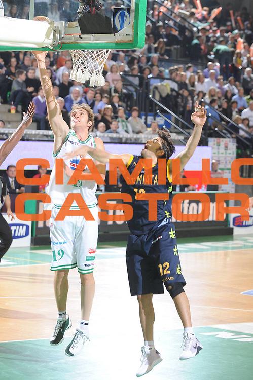 DESCRIZIONE : Treviso Lega A1 2008-09 Benetton Treviso Premiata Montegranaro<br /> GIOCATORE : Andrea Renzi<br /> SQUADRA : Benetton Treviso<br /> EVENTO : Campionato Lega A1 2008-2009<br /> GARA : Benetton Treviso Premiata Montegranaro<br /> DATA : 16/11/2008<br /> CATEGORIA : Tiro<br /> SPORT : Pallacanestro<br /> AUTORE : Agenzia Ciamillo-Castoria/M.Gregolin