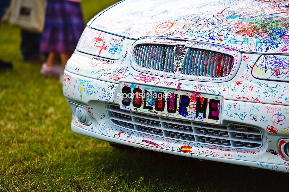 The colour me car. At Gloucester Motorshow (13/06/10)