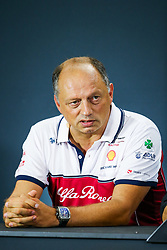 September 20, 2019, Singapore, Singapore: Motorsports: FIA Formula One World Championship 2019, Grand Prix of Singapore, .Frederic Vasseur (FRA, Alfa Romeo Racing) (Credit Image: © Hoch Zwei via ZUMA Wire)
