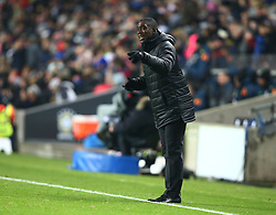 November 20, 2018 - Milton Keynes, United Kingdom - Clarence Seedorf Head Coach of Cameroon.during Chevrolet Brazil Global Tour International Friendly between Brazil and Cameroon at Stadiummk stadium , MK Dons Football Club, England on 20 Nov 2018. (Credit Image: © Action Foto Sport/NurPhoto via ZUMA Press)