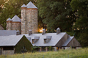 The Stone Barns Center for Food and Agriculture at the Blue Hill restaurant at Pocantico Hills, New York State.