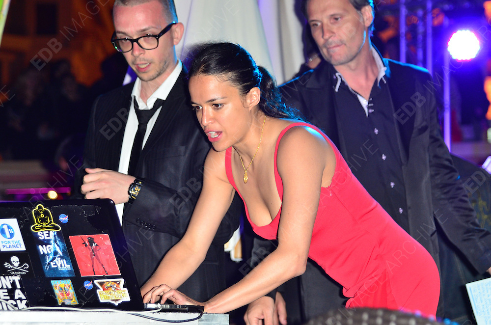 23.MAY.2012. CANNES<br /> <br /> MICHELLE RODRIGUEZ AT THE SEA SHEPHERD PARTY IN DURING THE 65TH CANNES FILM FESTIVAL, CANNES, FRANCE.<br /> <br /> BYLINE: EDBIMAGEARCHIVE.COM/JOE ALVAREZ<br /> <br /> *THIS IMAGE IS STRICTLY FOR UK NEWSPAPERS AND MAGAZINES ONLY*<br /> *FOR WORLD WIDE SALES AND WEB USE PLEASE CONTACT EDBIMAGEARCHIVE - 0208 954 5968*