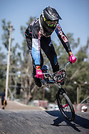 #252 (PALOMINO RODRIGUEZ Cristobal Andres) CHI at round 8 of the 2018 UCI BMX Supercross World Cup in Santiago del Estero, Argentina.