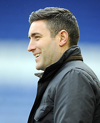 Oldham Athletic Manager, Lee Johnson - Photo mandatory by-line: Joe Meredith/JMP - Tel: Mobile: 07966 386802 08/02/2014 - SPORT - FOOTBALL - Oldham - Boundary Park - Oldham Athletic v Bristol City - Sky Bet League One