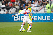 Aouar Houssem of Lyon during the French Championship Ligue 1 football match between Olympique Lyonnais and FC Nantes on April 28, 2018 at Groupama Stadium in Décines-Charpieu near Lyon, France - Photo Romain Biard / Isports / ProSportsImages / DPPI