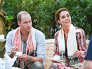 Kate Middleton & Prince William Feed Baby Elephants