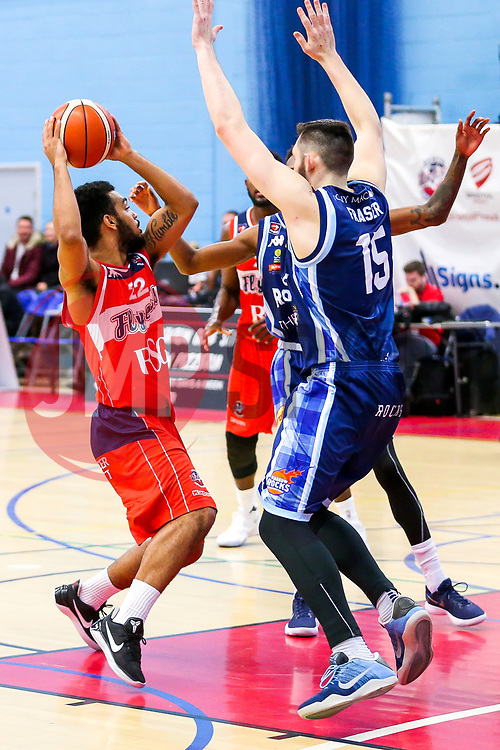 Adam Weary of Bristol Flyers - Rogan/JMP - 11/11/2017 - BASKETBALL - SGS Wise Arena - Bristol, England. - Bristol Flyers v Glasgow Rocks - British Basketball League.