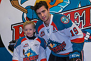 KELOWNA, CANADA - JANUARY 20:  Pepsi Player of the Game with Dillon Dube #19 of the Kelowna Rockets at the Kelowna Rockets game on January 20, 2018 at Prospera Place in Kelowna, British Columbia, Canada.  (Photo By Cindy Rogers/Nyasa Photography,  *** Local Caption ***