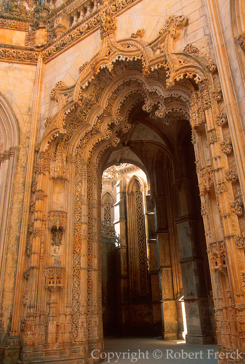 PORTUGAL, BATALHA ABBEY 'Manueline'; Capelas Imperfeitas