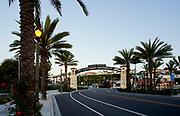 Dana Point Lantern District Archway at Del Prado