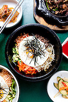 Bibimbap at Korea House in Creve Coeur, MO.