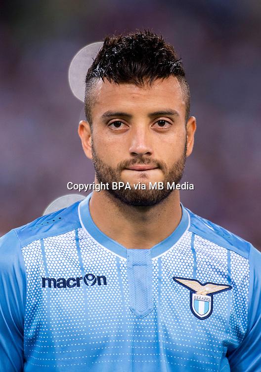 Italian League Serie A -2015-2016 / <br /> ( SS Lazio ) - <br /> Felipe Anderson Pereira Gomes &quot; Felipe Anderson &quot;