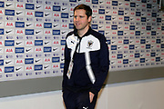 Robin arriving during the The FA Cup 3rd round match between Tottenham Hotspur and AFC Wimbledon at Wembley Stadium, London, England on 7 January 2018. Photo by Matthew Redman.