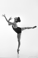 Black and white dance photography-Fingers-featuring ballerina Zui Gomez