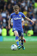 Leeds United midfielder Eunan O'Kane (14) on the attack during the EFL Sky Bet Championship match between Derby County and Leeds United at the iPro Stadium, Derby, England on 15 October 2016. Photo by Aaron  Lupton.