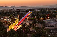 Hard Rock Hotel Neon Guitar @ Sunrise