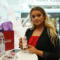 Rachel Leary is a celebrity youtube make up junkie promote imPRESS at Superdrug in London