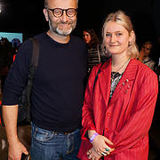 U Block 146 Brick Lane, London, UK. 10th October, 2017. Hugh Dennis attend the ActionAid Survivors Runway - fashion show showcase the inner strength and dignity of survivors who have had the courage to speak out against gender-based violence