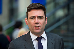 © Licensed to London News Pictures. 06/06/2015. London, UK. ANDY BURNHAM leaving the venue.  Current Labour Leadership candidates attend a debate at the Fabien Society Conference, held at the institute of Education in London. Photo credit: Ben Cawthra/LNP