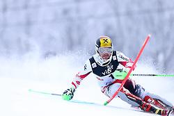 06.01.2015, Sljeme, Zagreb, CRO, FIS Weltcup Ski Alpin, Zagreb, Herren, Slalom, 1. Lauf, im Bild Marcel Hirscher (AUT) // Marcel Hirscher of Austria in action during 1st run of men's Slalom of FIS Ski Alpine Worldcup at the Sljeme in Zagreb, Croatia on 2015/01/06. EXPA Pictures © 2015, PhotoCredit: EXPA/ Pixsell/ Goran Stanzl<br /> <br /> *****ATTENTION - for AUT, SLO, SUI, SWE, ITA, FRA only*****