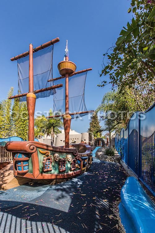 Port Bellfleur at Pirate Park in Bellflower CA