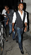 01.JULY.2009 - LONDON<br /> <br /> TOTTENHAM AND ENGLAND FOOTBALLER JERMAIN DEFOE WALKING THROUGH MAYFAIR.<br /> <br /> BYLINE: EDBIMAGEARCHIVE.COM<br /> <br /> *THIS IMAGE IS STRICTLY FOR UK NEWSPAPERS &amp; MAGAZINES ONLY*<br /> *FOR WORLDWIDE SALES &amp; WEB USE PLEASE CONTACT EDBIMAGEARCHIVE - 0208 954 5968*