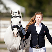 Barbara Davis and Bohdjan during the 2013 Wellington Classic Dressage Sunshine Challenge at the Jim Brandon Equestrian Center in West Palm Beach, Florida.
