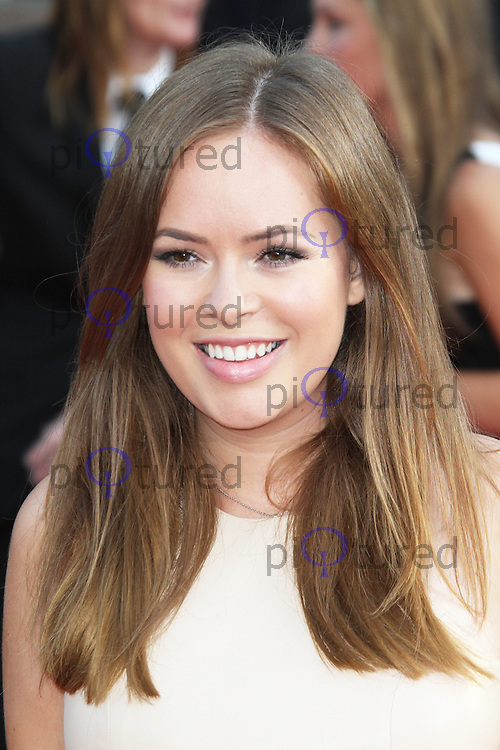 Tanya Burr, One Direction: This Is Us - World film premiere, Leicester Square, London UK, 20 August 2013, (Photo by Richard Goldschmidt)