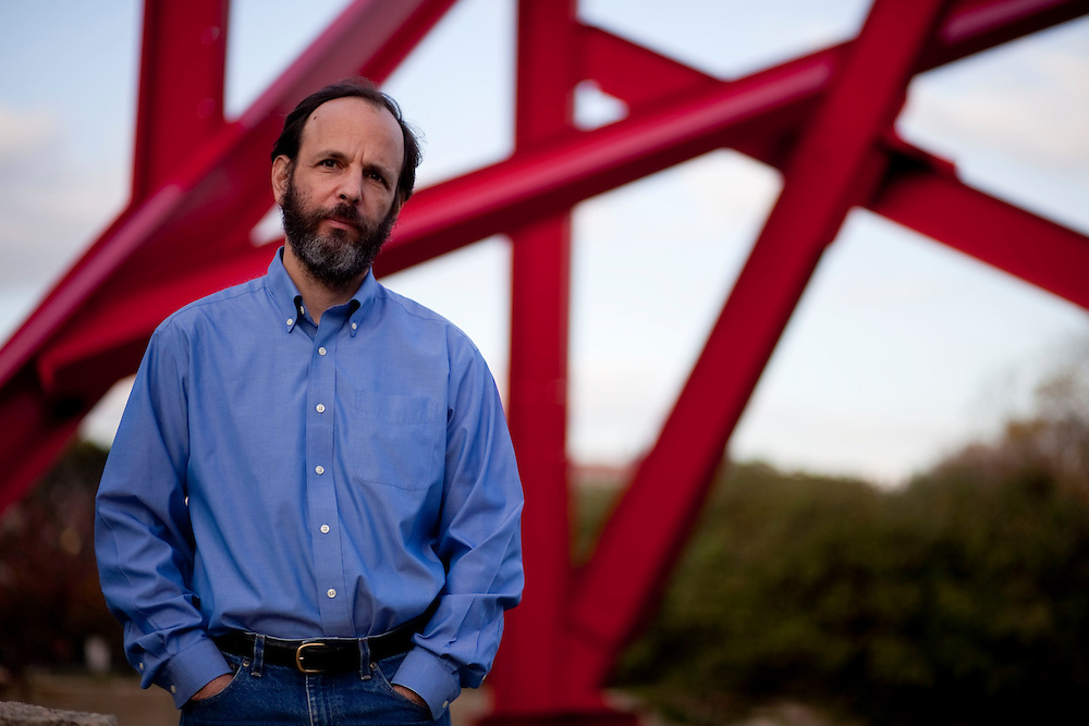Dan Sarewitz, Nature columnist, on Monday, November 2, 2009 in Washington DC. (Michael Temchine for NATURE)