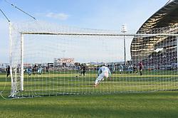 July 13, 2018 - Clermont-Ferrand - Stade Gabrie, France - Arnaud Nordin (saint etienne) vs Florian Escales  (Credit Image: © Panoramic via ZUMA Press)