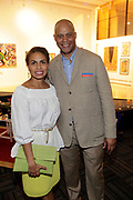 May 14, 2014- Harlem, New York-United States: (L-R) Kisha Sutton-James, Vice President, Inner City Broadcasting Corporation and Eric Pryor, President, Harlem School Arts attend the Harlem School of the Arts Jump and Wave Benefit held at the Harlem School of the Arts- The Herb Alpert Center on May 18, 2017 in Harlem, New York City. Harlem School of the Arts enriches the lives of young people and their families through world-class training in and exposure to the arts across multiple disciplines in an environment that emphasizes rigorous training, stimulates creativity, builds self-confidence, and adds a dimension of beauty to their lives.(Photo by Terrence Jennings/terrencejennings.com)