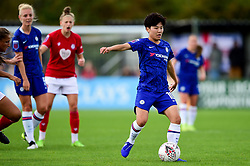 Ji So-Yun of Chelsea Women - Mandatory by-line: Ryan Hiscott/JMP - 29/09/2019 - FOOTBALL - SGS College Stoke Gifford Stadium - Bristol, England - Bristol City Women v Chelsea Women - FA Women's Super League