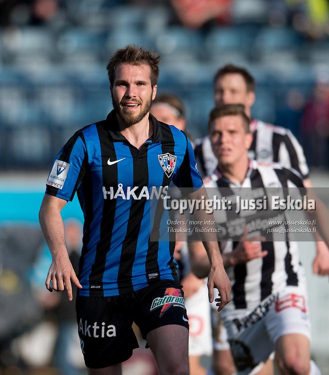 Teemu Turunen. TPS - Inter. Veikkausliiga. Turku, 13.5.2013. Photo: Jussi Eskola