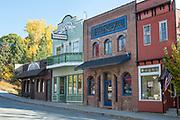 Downtown Priest River, Idaho.