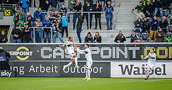 11.05.2019, Cashpoint Arena, Altach, AUT, 1. FBL, Cashpoint SCR Altach vs FC Flyeralarm Admira, Qualifikationsgruppe, 30. Spieltag, im Bild Torjubel (SCR Altach) // during the tipico Bundesliga qualification group 30th round match between Cashpoint SCR Altach and FC Flyeralarm Admira at the Cashpoint Arena in Altach, Austria on 2019/05/11. EXPA Pictures © 2019, PhotoCredit: EXPA/ Peter Rinderer