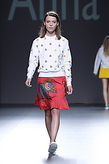 Madrid - Anna K Fashion Show - 20 Sep 2016