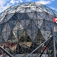 Science World Geodesic Dome in Vancouver, Canada <br />