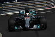 Lewis Hamilton of Mercedes AMG Petronas during the practice session for the 2017 Monaco Formula One Grand Prix at the Circuit de Monaco, Monte Carlo<br /> Picture by EXPA Pictures/Focus Images Ltd 07814482222<br /> 25/05/2017<br /> *** UK &amp; IRELAND ONLY ***<br /> <br /> EXPA-EIB-170525-0085.jpg