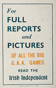 All Ireland Senior Hurling Championship Final,.Brochures,.07.09.1947, 09.07.1947, 7th September 1947,.Kilkenny 0-14, Cork 2-7,.Minor Galway v Tipperary, .Senior Kilkenny v Cork, .Croke Park,..Advertisements, Irish Independent,