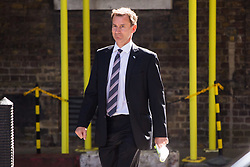 London, July 4th 2017. Health Secretary Jeremy Hunt attends the weekly cabinet meeting at 10 Downing Street in London.