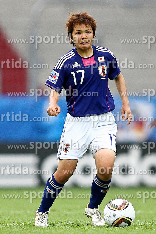 17.07.2010,  Augsburg, GER, FIFA U20 Womens Worldcup, Nigeria vs Japan,  im Bild Shoko YAMADA  (Japan Nr.17) , EXPA Pictures © 2010, PhotoCredit: EXPA/ nph/ . Straubmeier+++++ ATTENTION - OUT OF GER +++++ / SPORTIDA PHOTO AGENCY