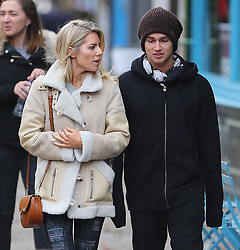 Strictly Come Dancing partners AJ Pritchard and Mollie King take a break from rehearsals and head out for lunch in London, UK. 21/11/2017<br /> BYLINE MUST READ : JAMESY/GOTCHA IMAGES<br /> <br /> Copyright by © Gotcha Images Ltd. All rights reserved.<br /> Usage of this image is conditional upon the acceptance <br /> of Gotcha Images Ltd, terms and conditions available at<br /> www.gotchaimages.com