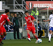 10.10.2009, Olympiastadion / Olympic Stadium, Helsinki, Finland..2010 MM-karsinta Suomi - Wales / FIFA World Cup 2010 Qualifying match Finland v Wales.Garet Bale - Wales.©Juha Tamminen.