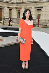 TAMARA ROJO at the Royal Academy of Arts Summer Exhibition Preview Party at The Royal Academy of Arts, Burlington House, Piccadilly, London on 7th June 2016.