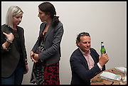 ELIZABETH PRICE;  DOROTHY AVERY;  NEIL STUKE, Matt's Gallery 35th birthday fundraising supper.  42-44 Copperfield Road, London E3 4RR. 12 June 2014.
