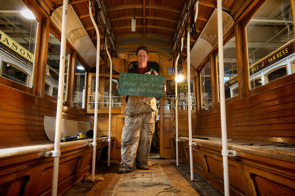 Bob Harris, Cable Car Division Carpenter | I like to Hunt and Fish with my Friends | I am Muni..