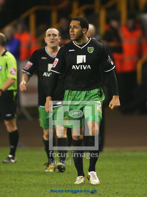 Wolverhampton - Tuesday February 3rd, 2009: John Ostemobor and Lee Croft of Norwich City during the Coca Cola Championship match at Molineaux, Wolverhampton. (Pic by Chris Ratcliffe/Focus Images)