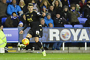 Bolton Wanderers striker Gary Madine crosses the ball during the Sky Bet Championship match between Reading and Bolton Wanderers at the Madejski Stadium, Reading, England on 21 November 2015. Photo by Mark Davies.